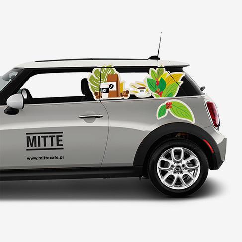 MITTE – Oklejenie Samochodu